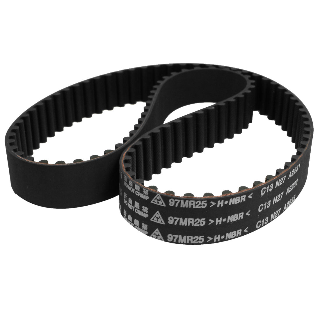 97MR25-S-0 Black Rubber 97 Round Tooth Car Timing Belt