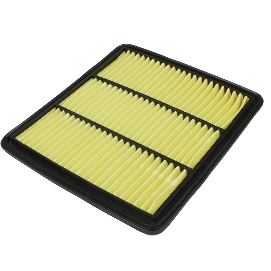 Car Air-intake System Panel Air Filter Black Yellow 16546-JN30A-C139