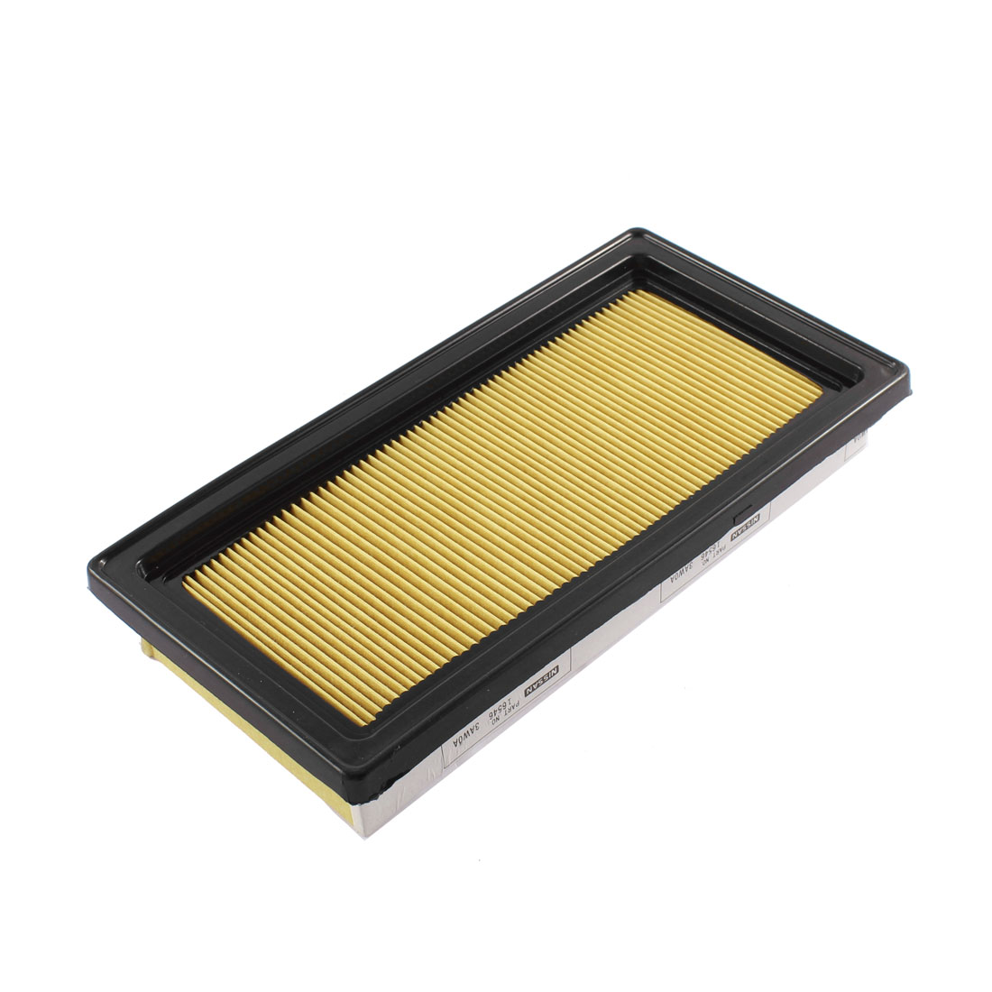 Car Air-intake System Panel Air Filter Yello Black 16546-3AWOA