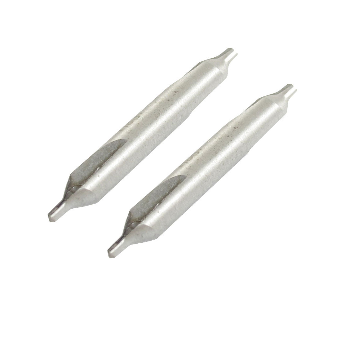 2 Pcs 2mm Dia Tip HSS Center Spotting Drill Bits Countersinks