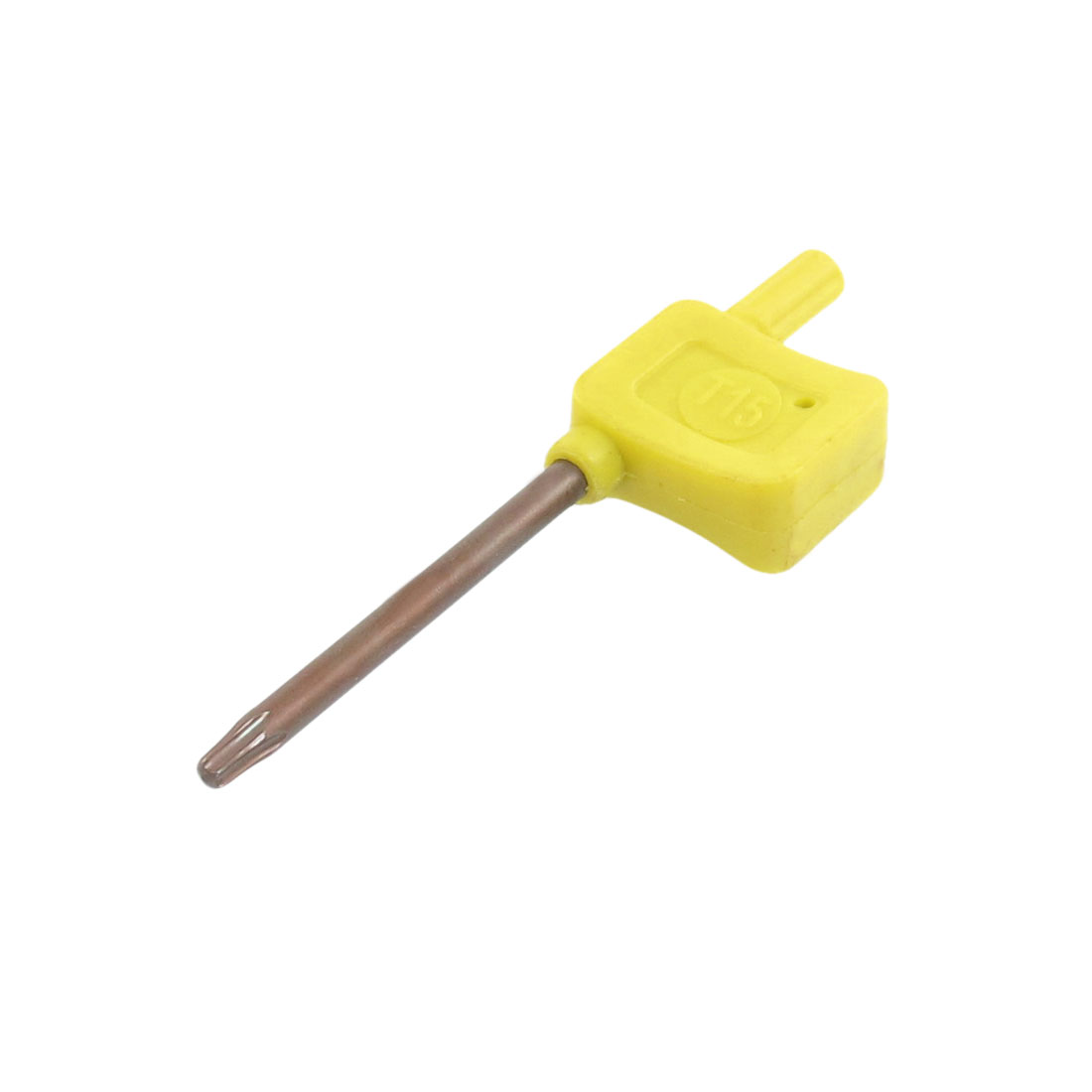 T15 Torx Nonslip Grip Yellow Flag Type Wrench Spanner