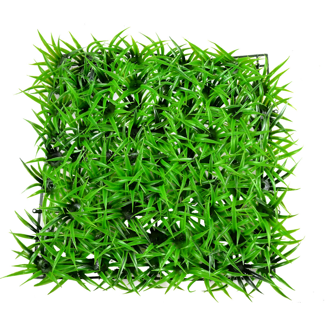 "8.6"" x 8.6"" Artificial Lawn Style Green Ornament Decor for Aquarium"