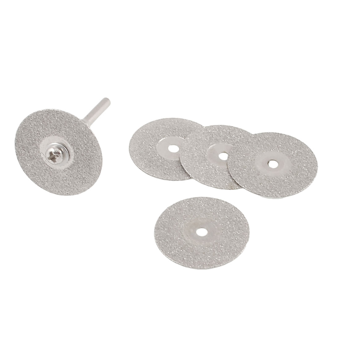 25mm Dia Mini Electric Grinder Abrasive Cut off Wheel 6 Pcs w Connector