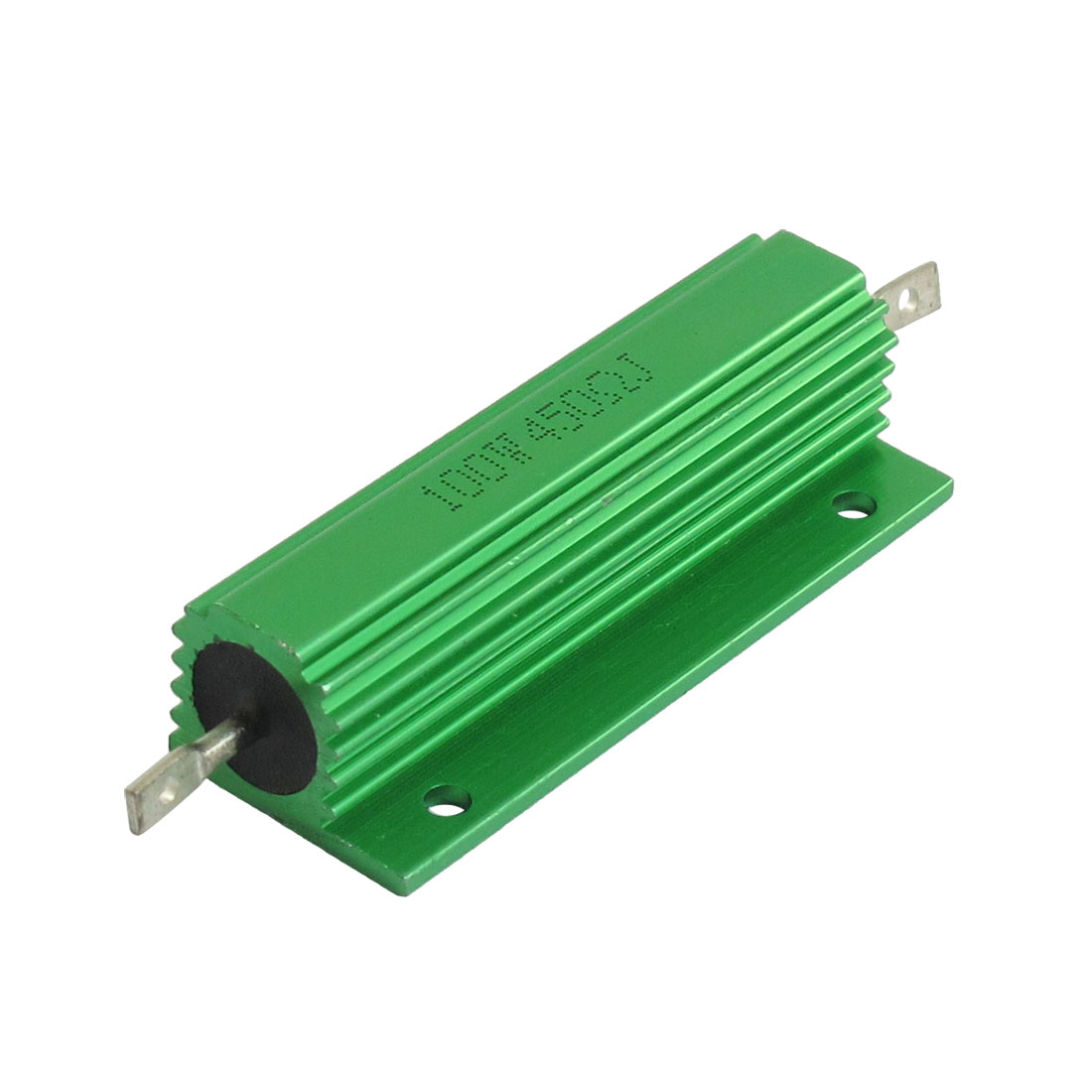 Green Aluminium Housed Wirewound Power Resistor 100W 450 Ohm