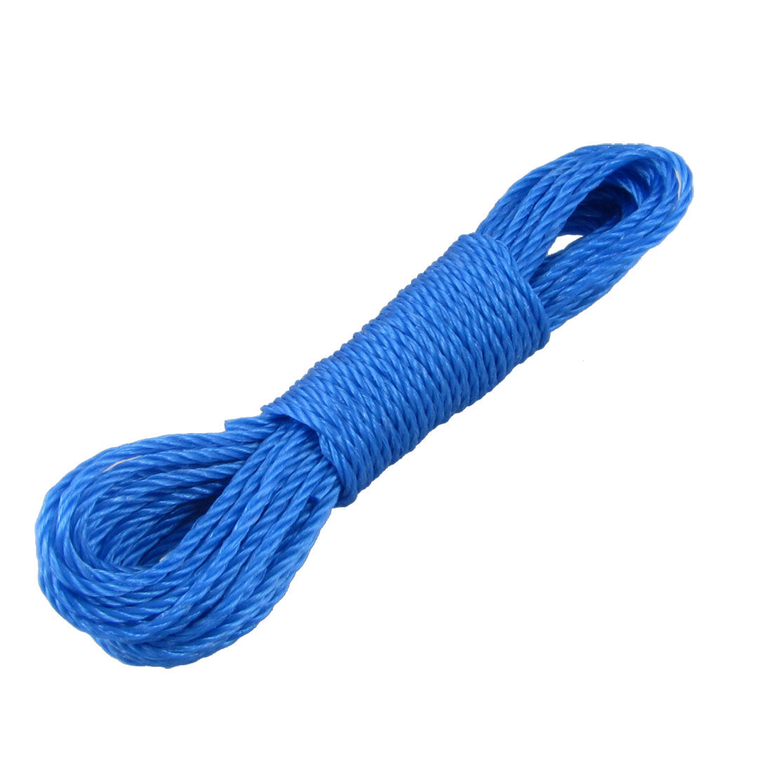 32Ft Length Clothes Hang Rope Nylon String Clothesline Blue
