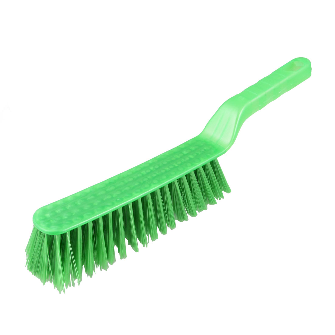 Clothes Shoes Green Plastic Handle Wash Scrubbing Brush 12.6""