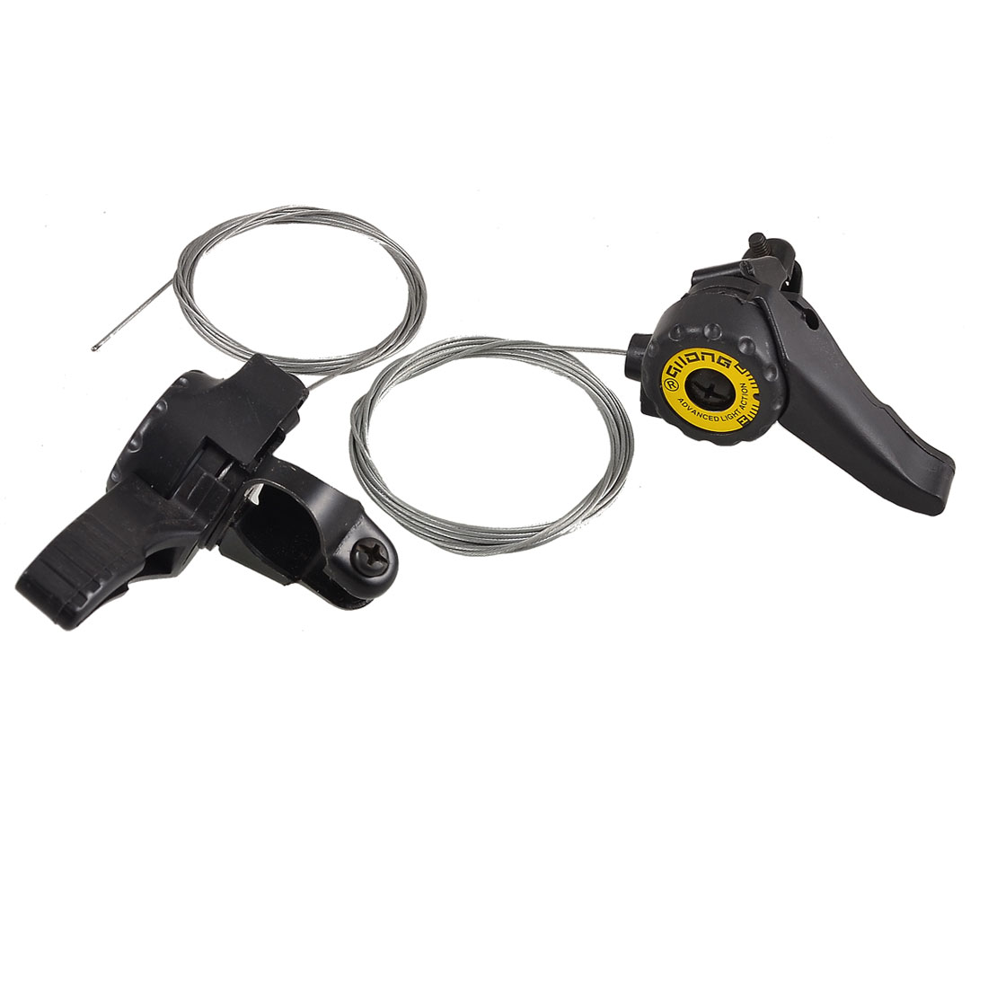 Plastic Handle Grip Bicycle Bike Right Left Brake Lever Pair