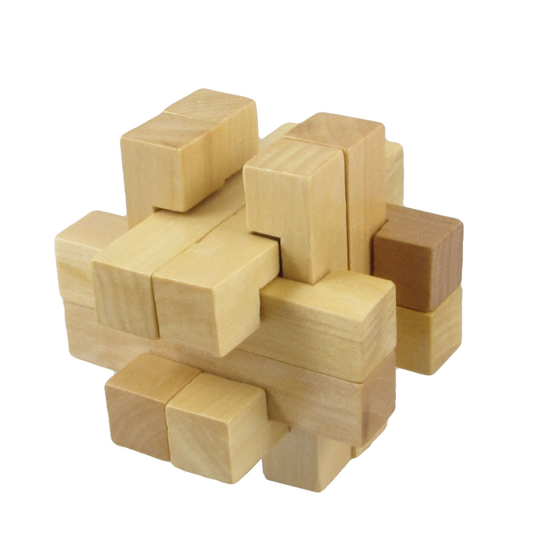 Child Brain Train Restore Wooden Intelligence Puzzle Sound Toy Plaything Gift