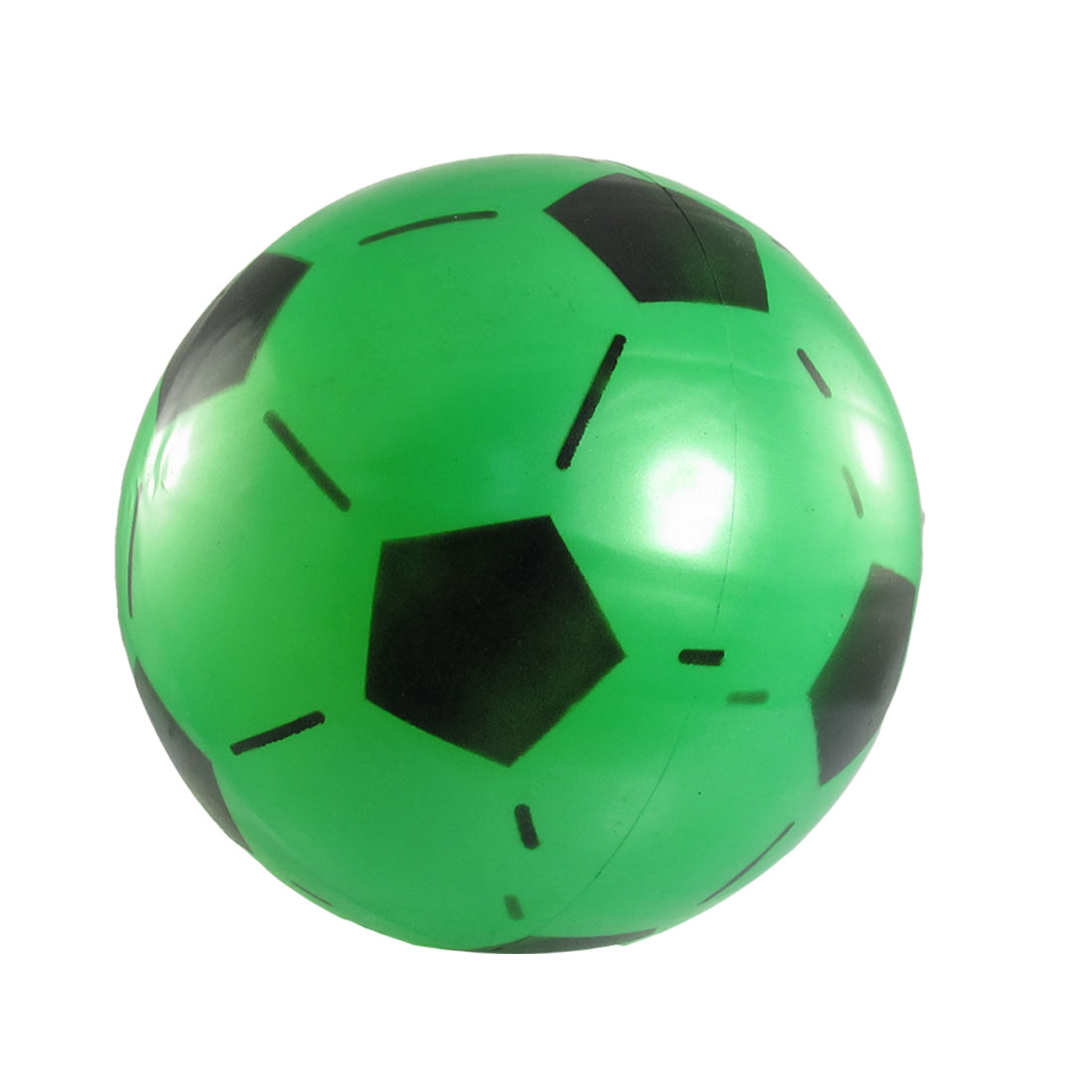 Green Black Emulational PVC Soccer Football Toy for Child