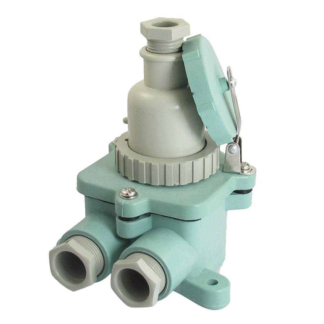 24V DC 10A 2P Waterproof Marine Plug Socket Set Junction Z-M/T-MA