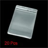 20 Pcs Dull Polished Vertical Exhibition Card Badge Holders