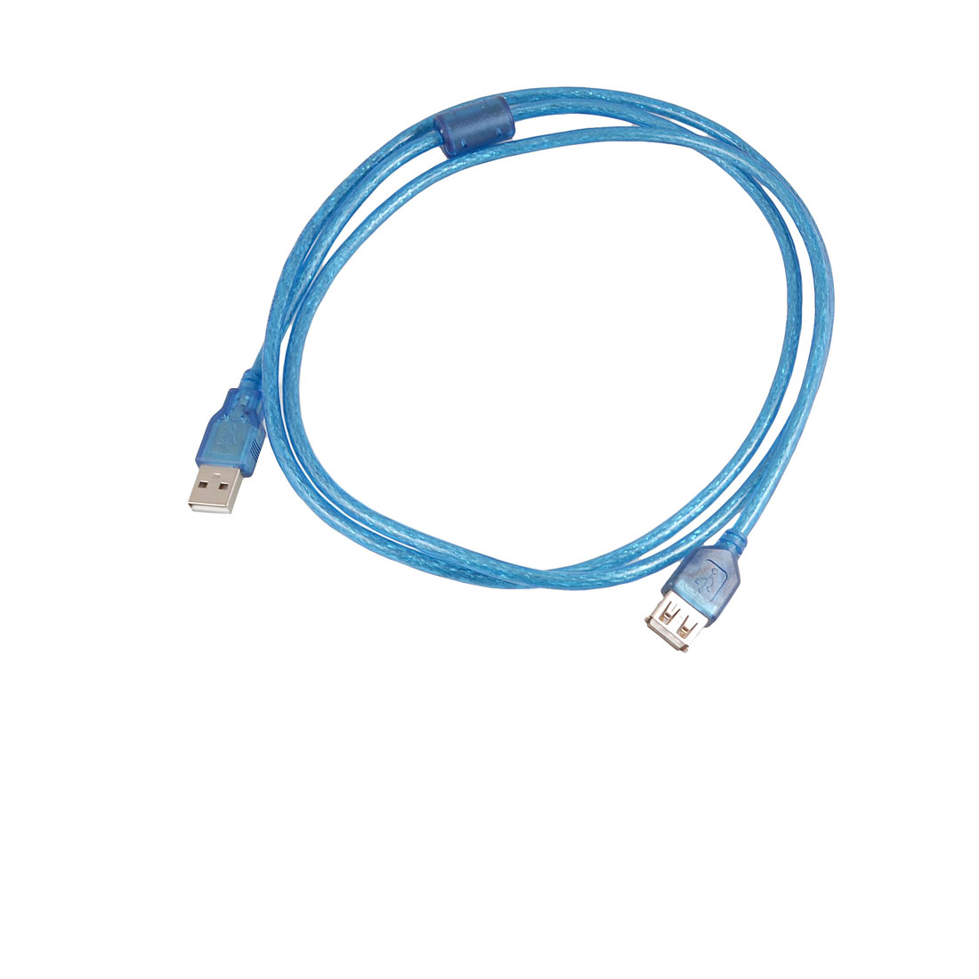 PC Computer Blue USB 2.0 A Type Male to Female Entension Cable 1.5 Meters