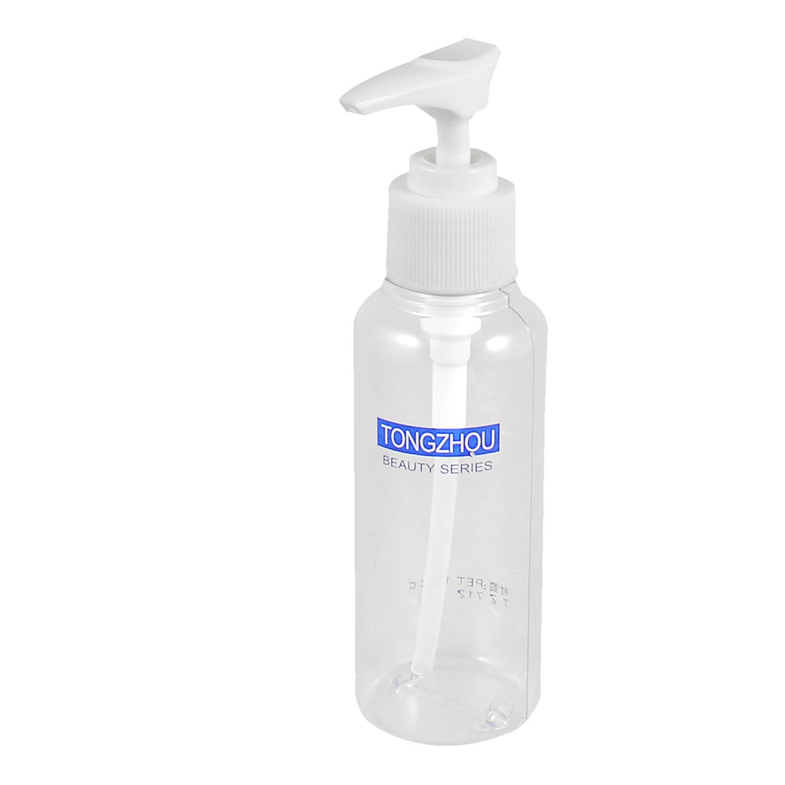 Travelling Portable Beauty Tool Plastic White Clear Water Perfume Spray Bottle 100ml