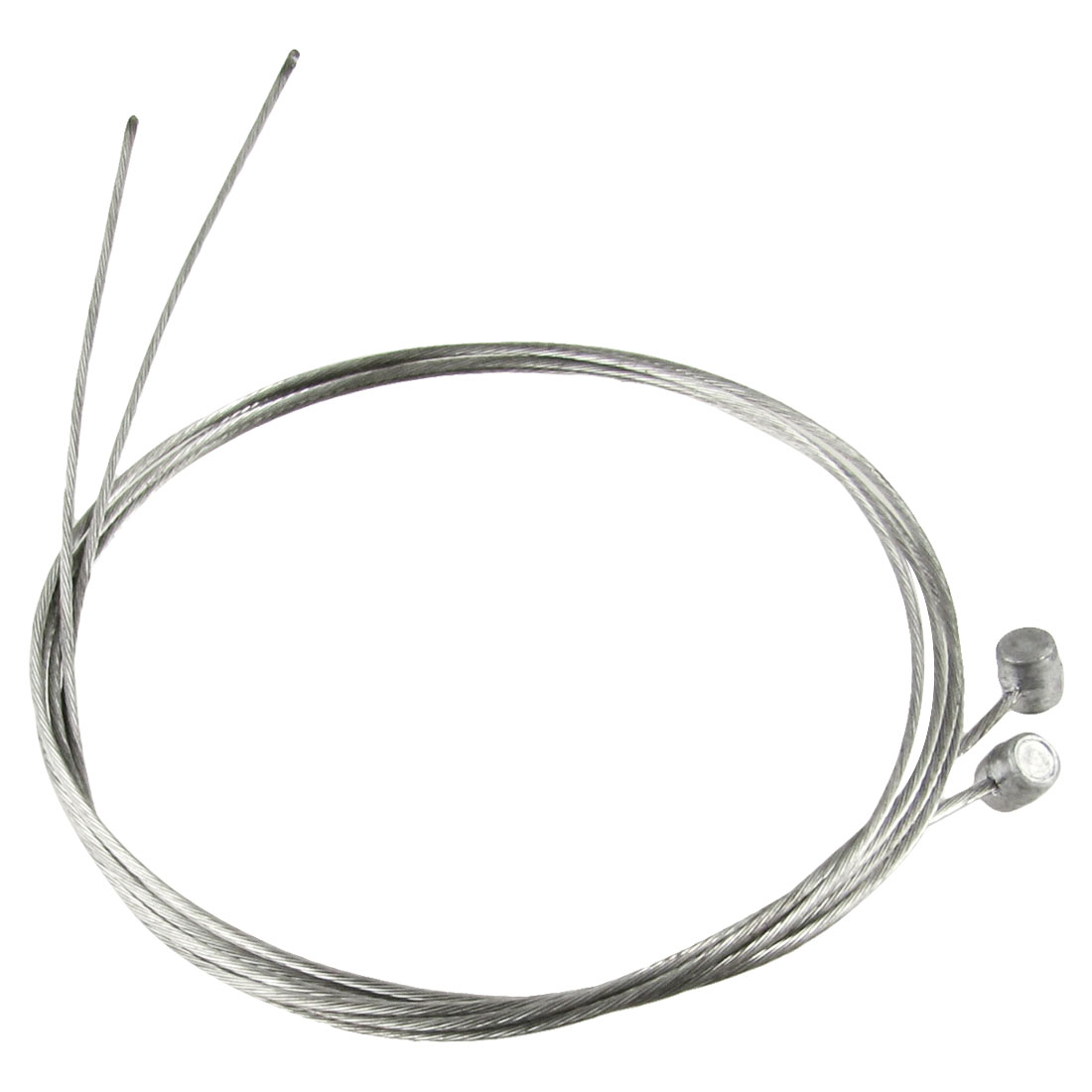 "2 Pcs 30"" Length Bike Bicycle Repair Part Front Brake Cable Steel Wire"