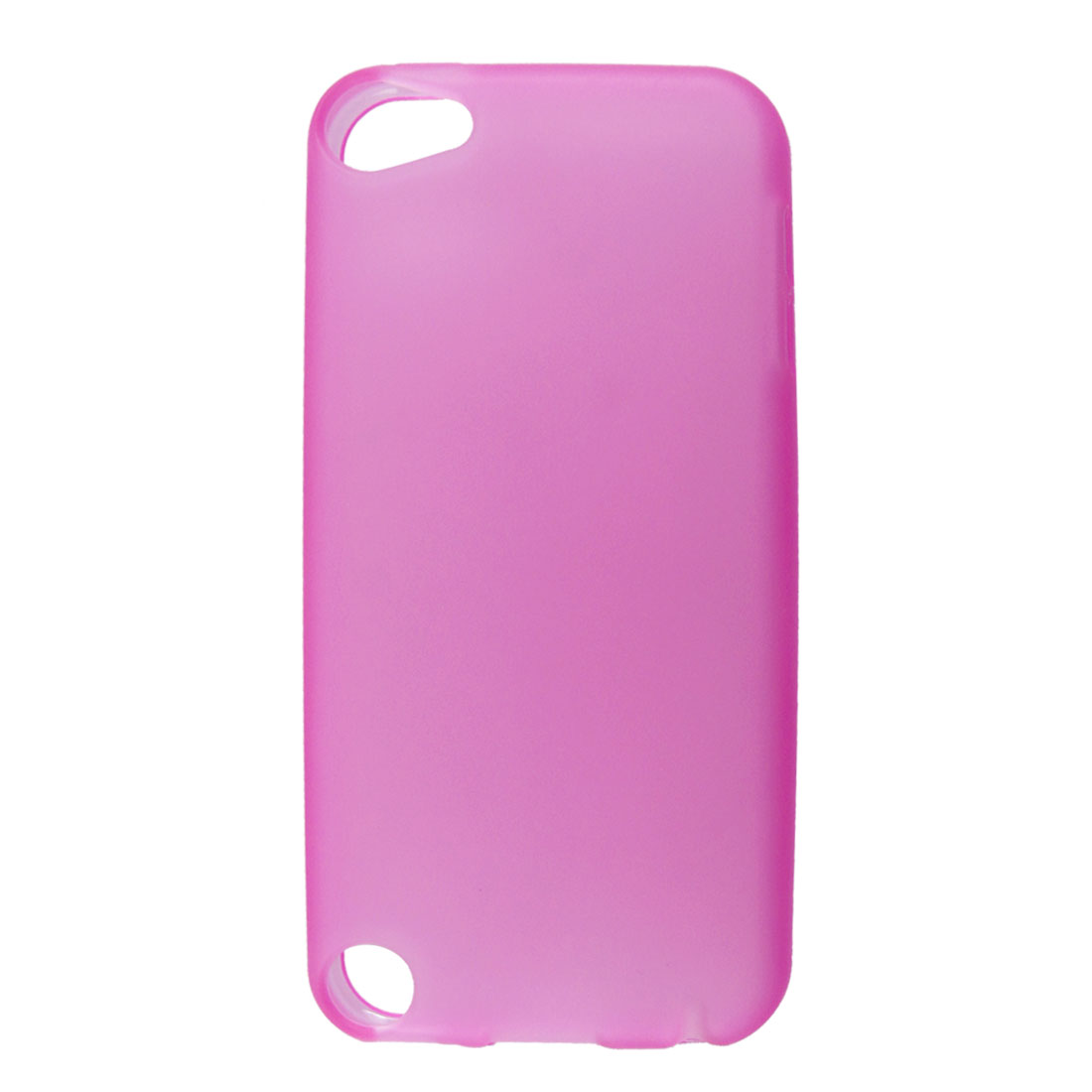 Fuchsia Soft Plastic Case Cover Shell for Apple iPod Touch 5 5th