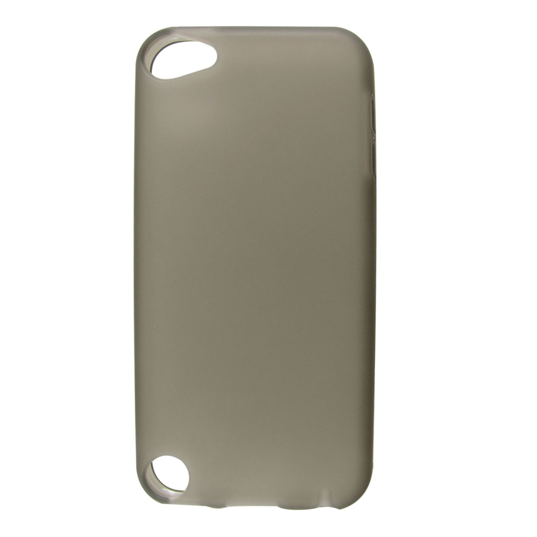 Gray Soft Plastic Case Cover Protector for Apple iPod Touch 5 5th