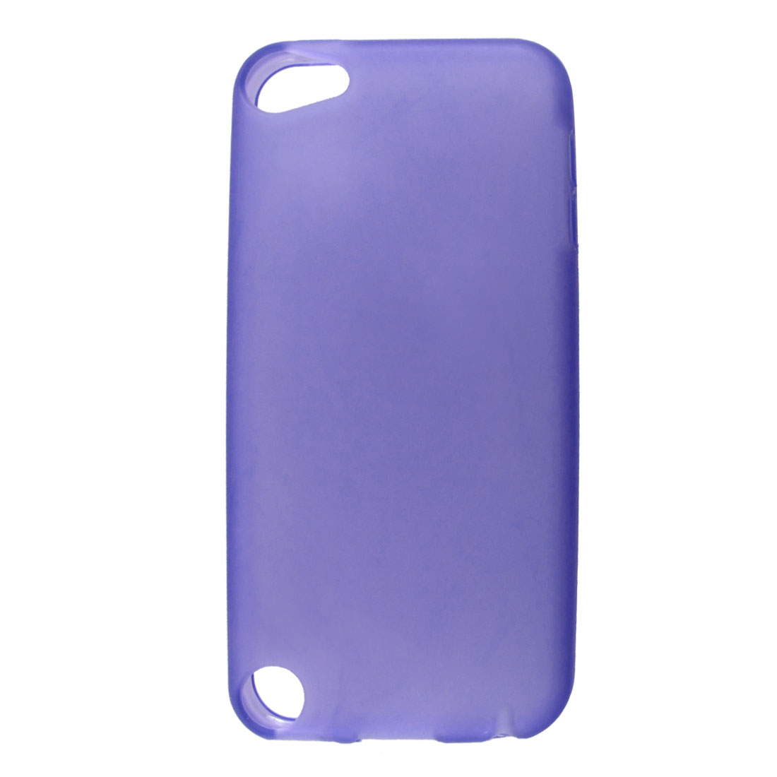 Purple Soft Plastic Case Cover Protector for Apple iPod Touch 5 5th