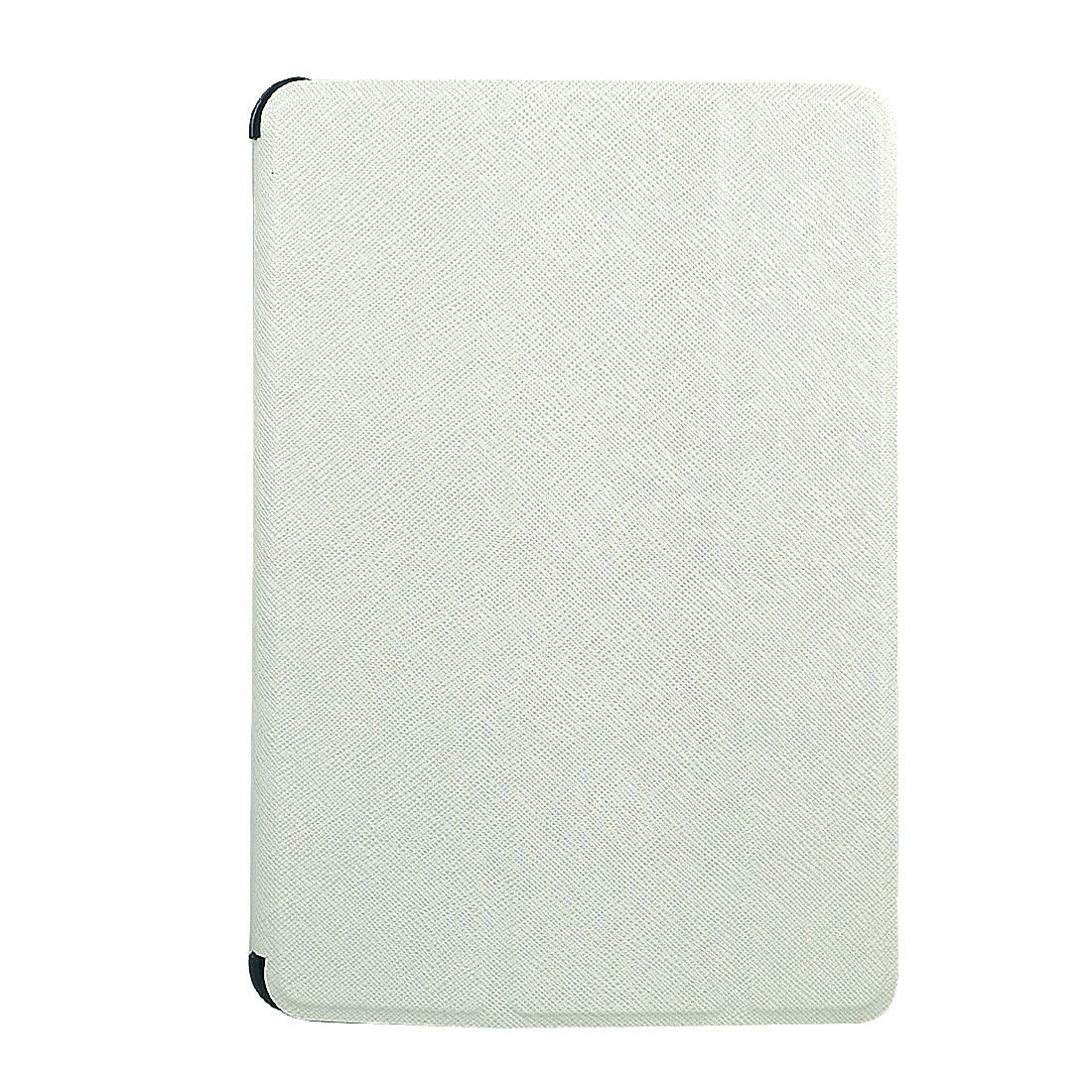 White Faux Leather Stand Case Cover Pouch Protector for Apple iPad Mini
