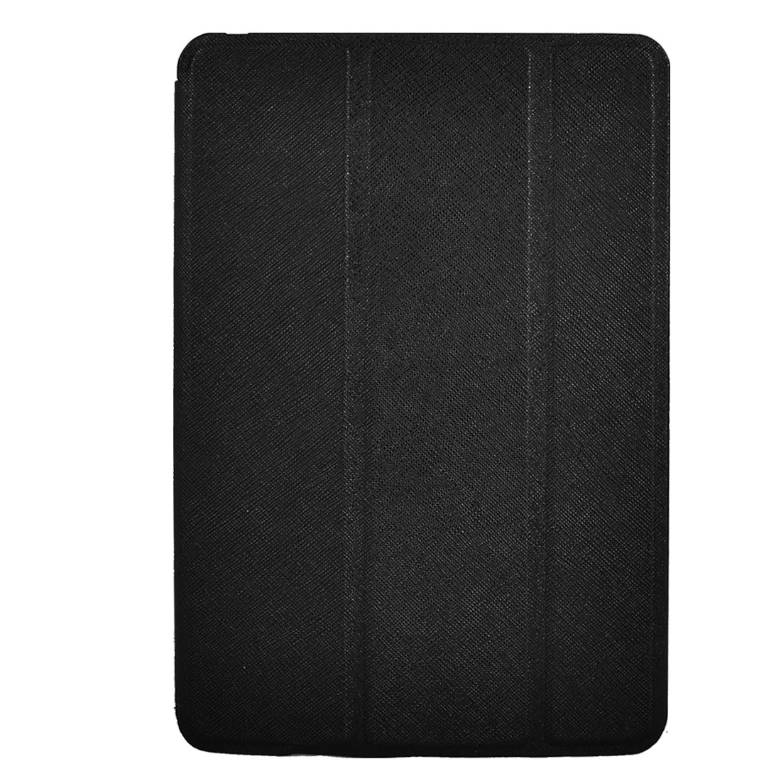 Black Faux Leather Stand Case Cover Pouch Protector for Apple iPad Mini