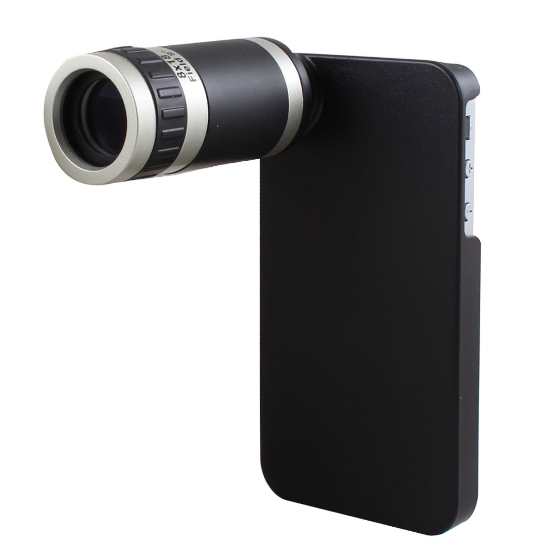 Black Case 8 X Optical Zoom Telescope for Phone