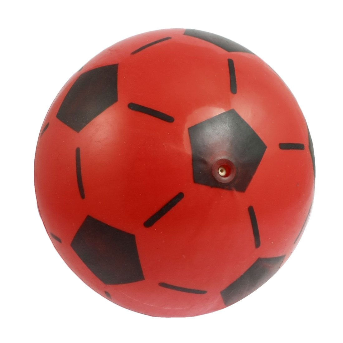 Red 19cm Diameter Football Shape Sports Training Exercise Body Massage Ball