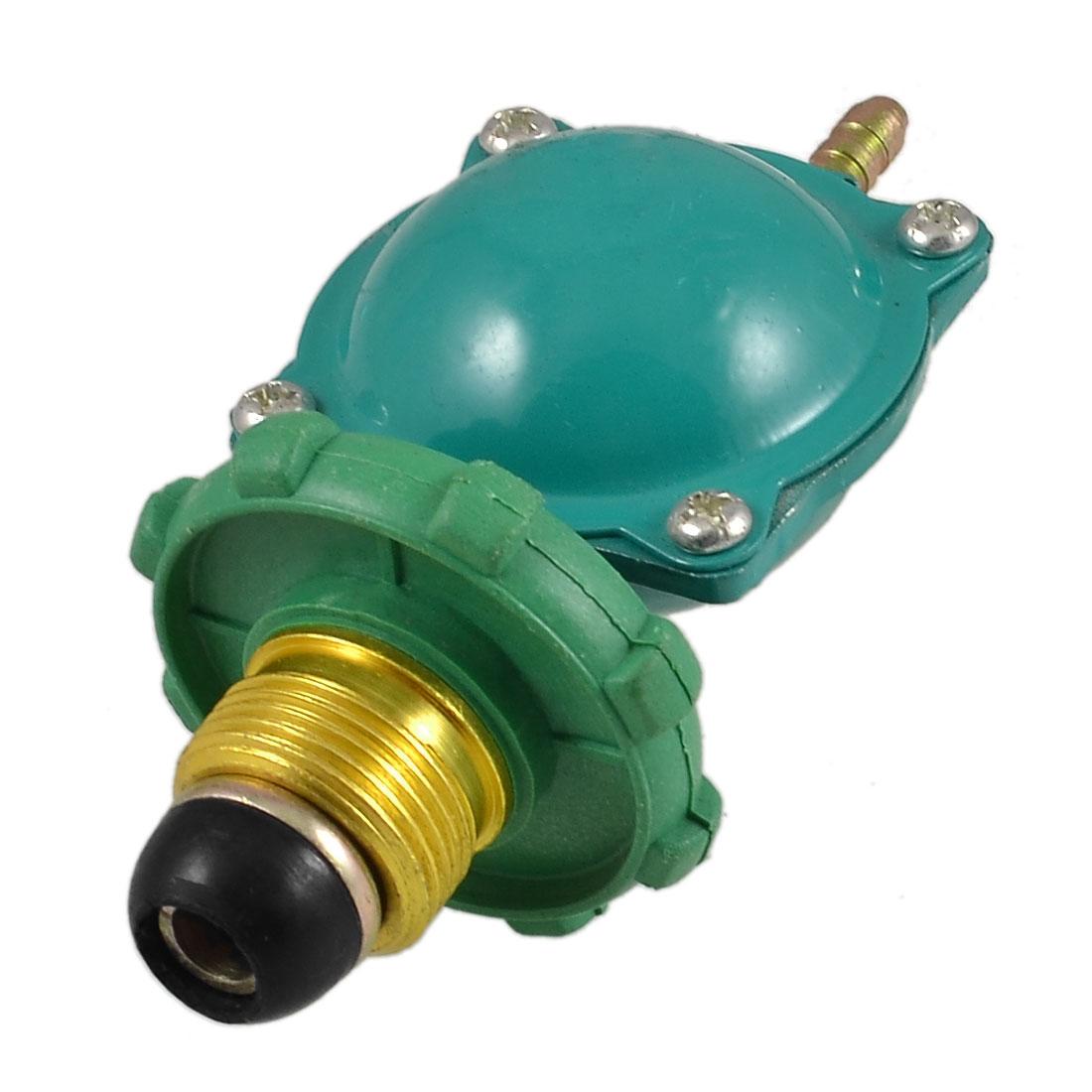 Green 22mm Thread Household Bottled Compressed Gas Pressure Regulator Valve