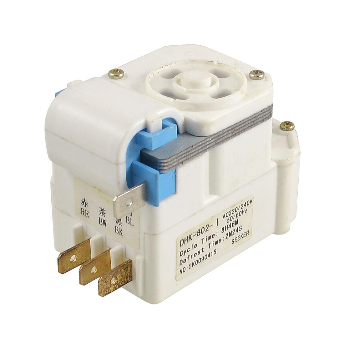 AC 220/240V 50/60Hz DBY Series 4 Terminals Refrigerator Defrost Timer