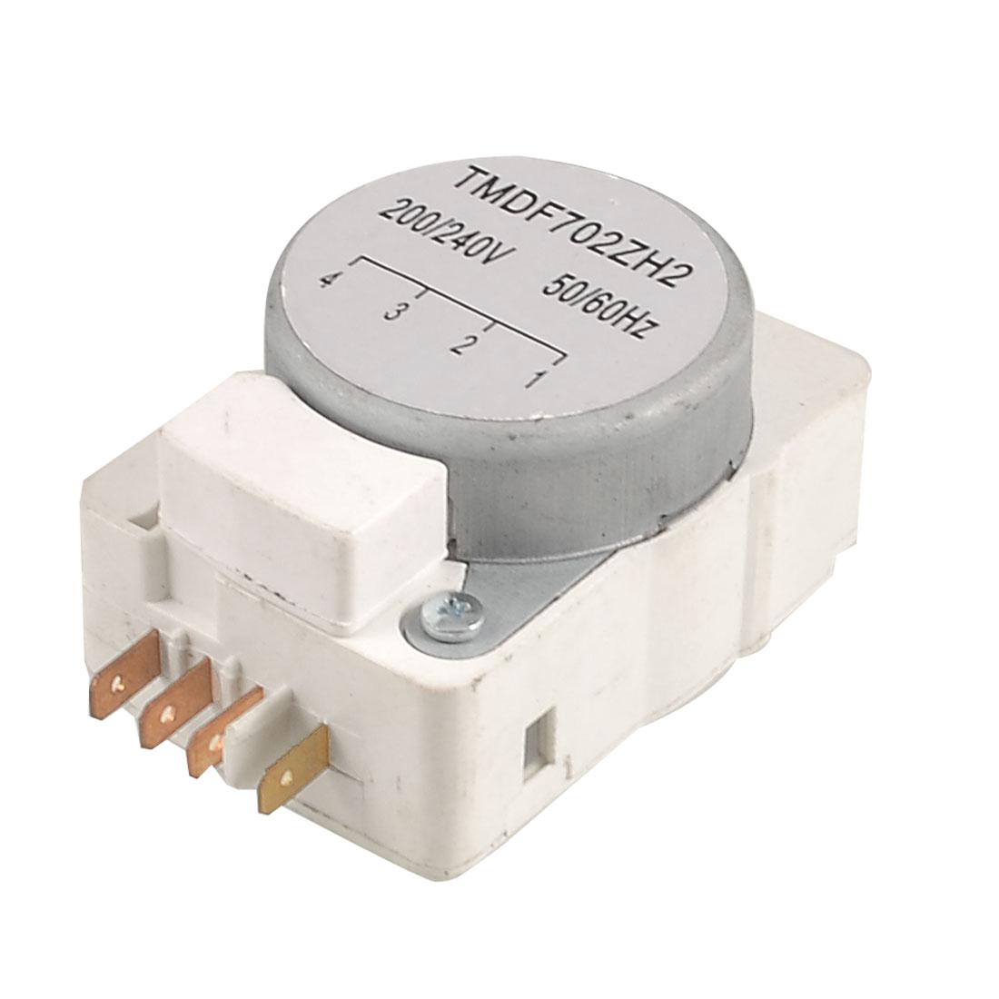 AC 200/240V 50Hz/60Hz DBY Series 4 Terminals Refrigerator Defrost Timer
