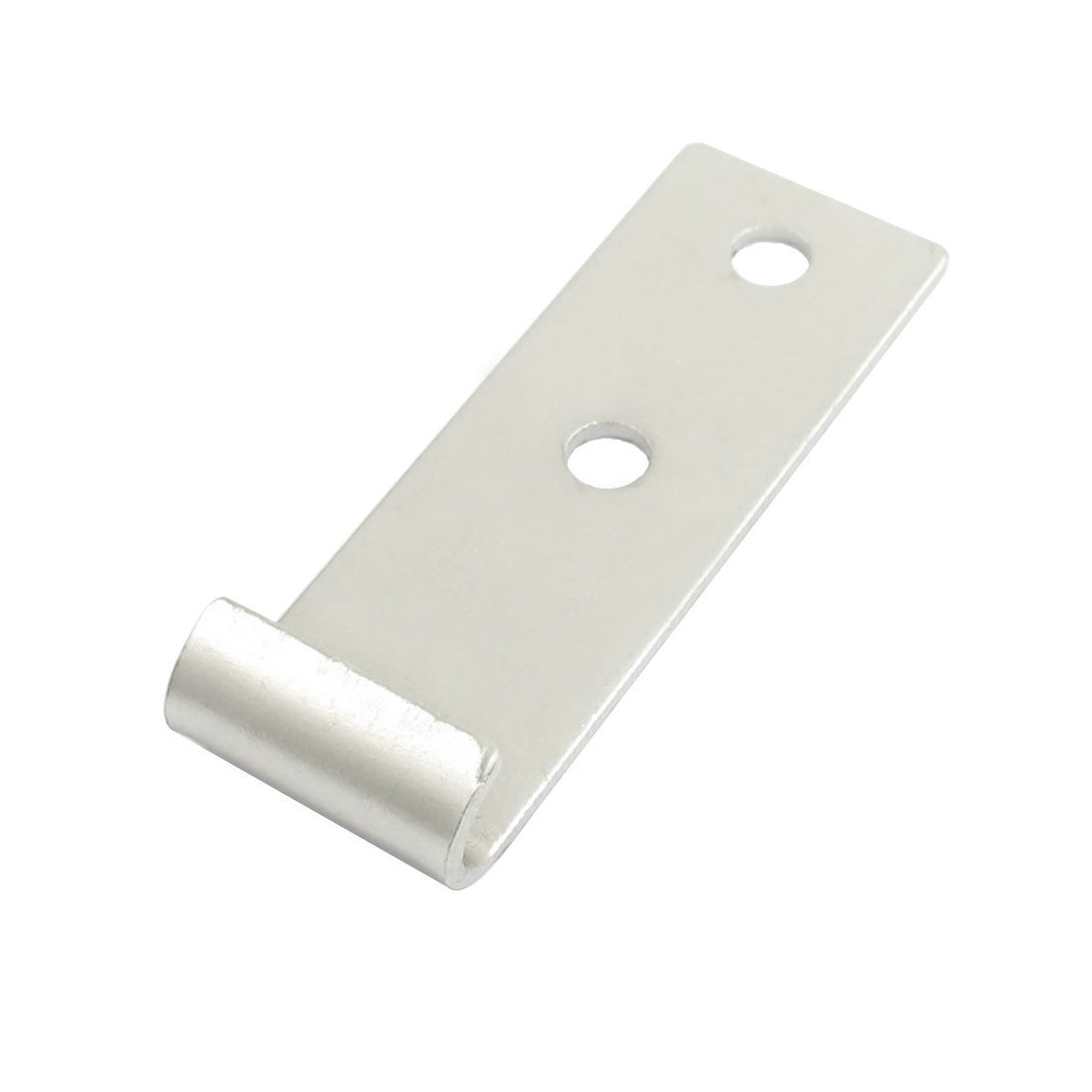 5mm Hole Mounting Silver Tone Iron Strike Plate for Toggle Latch