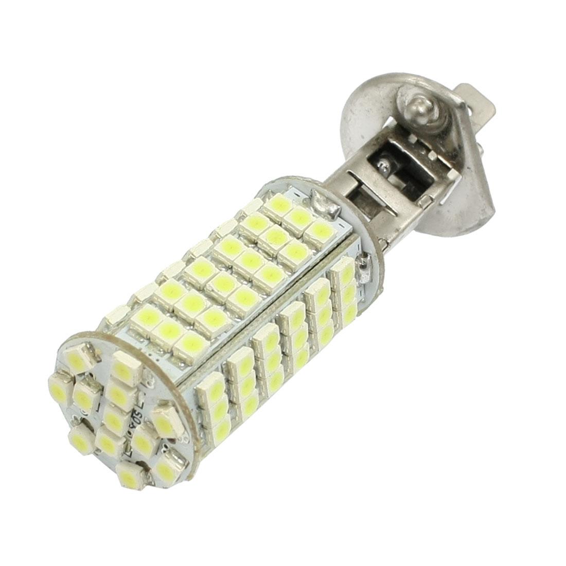 White H1 1210 3528 SMD 102 LED Fog Lamp Headlight for Car