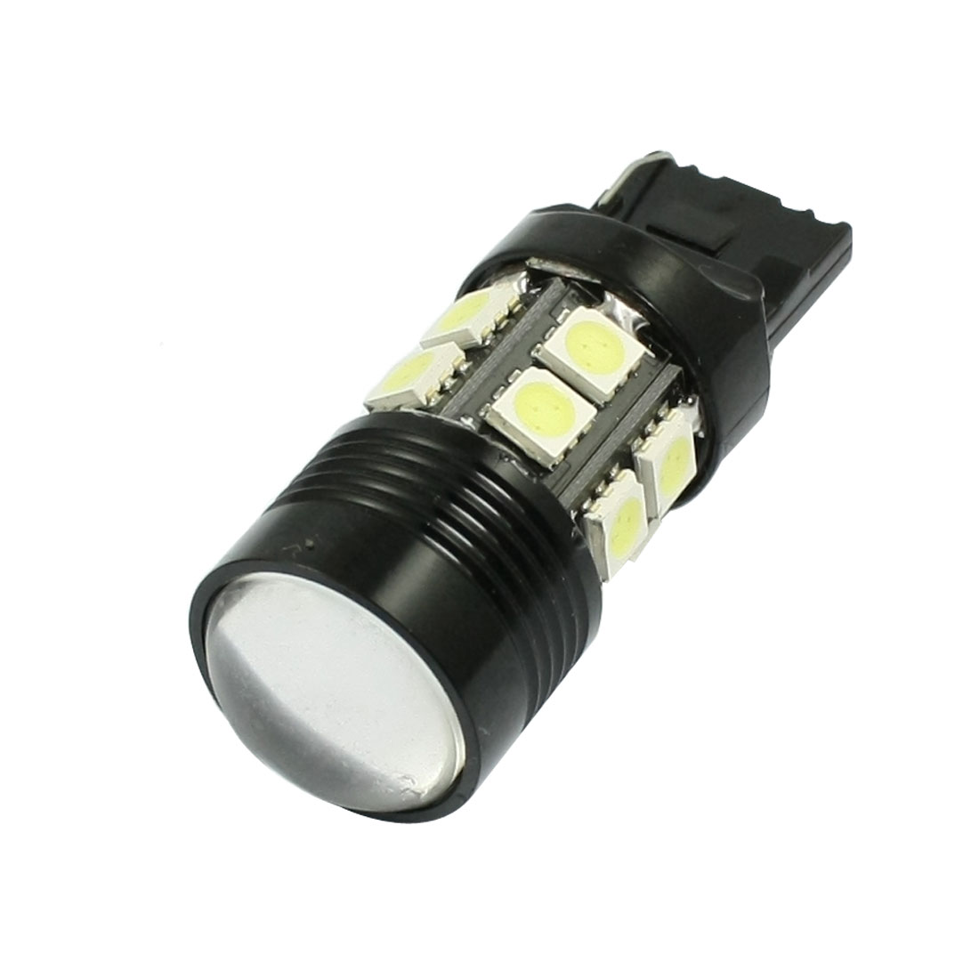 Car 7440 T20 White 5050 13-SMD LED Reverse Tail Turn Lamp Light Bulb DC 12V