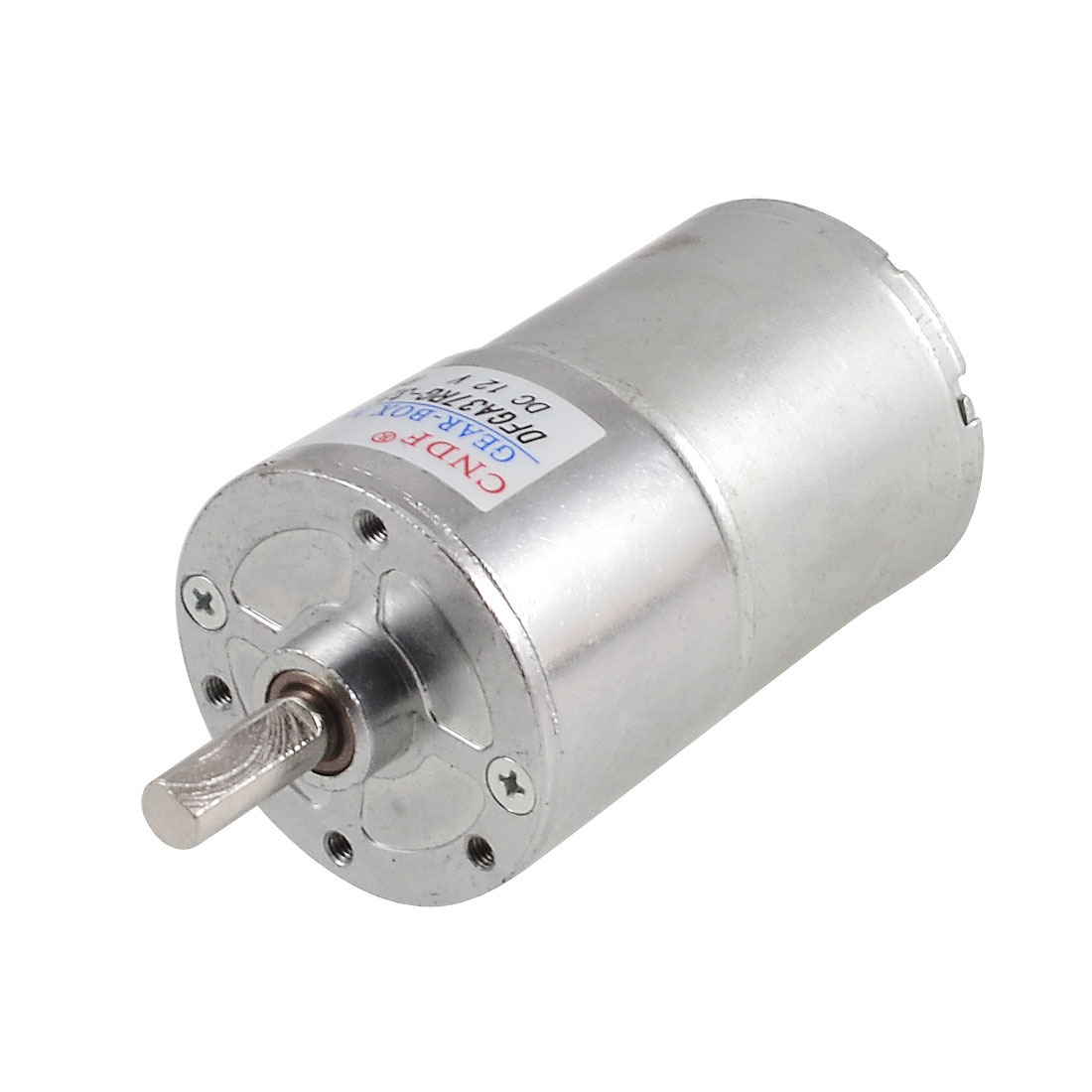 DC 12V 100 RPM 37mm Dia Permanent Magnetic Planet Gear Box Motor Ratio