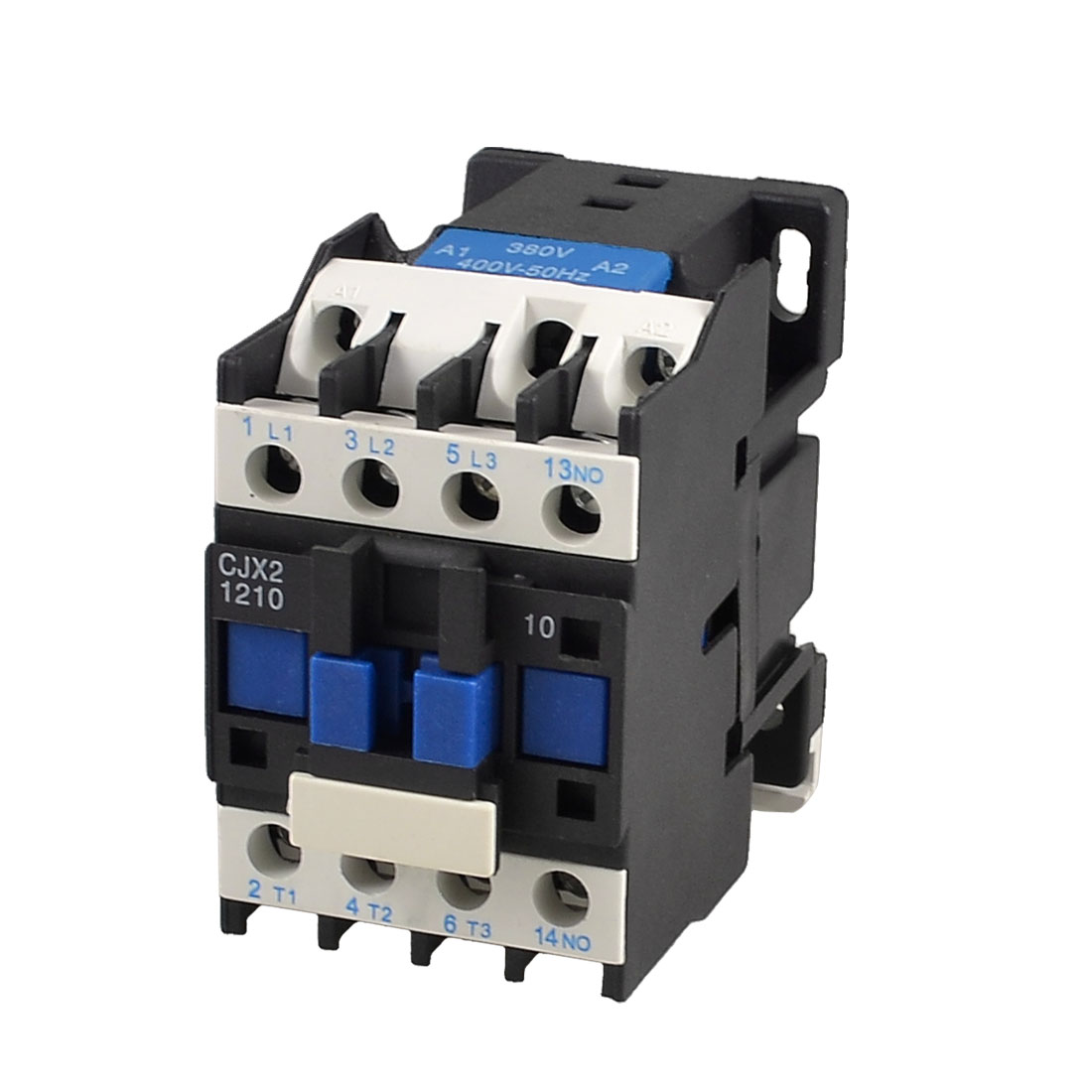 CJX2-1210 690V Ui 12A 3 Poles 1NO 380V/400V 50Hz Coil AC Contactor