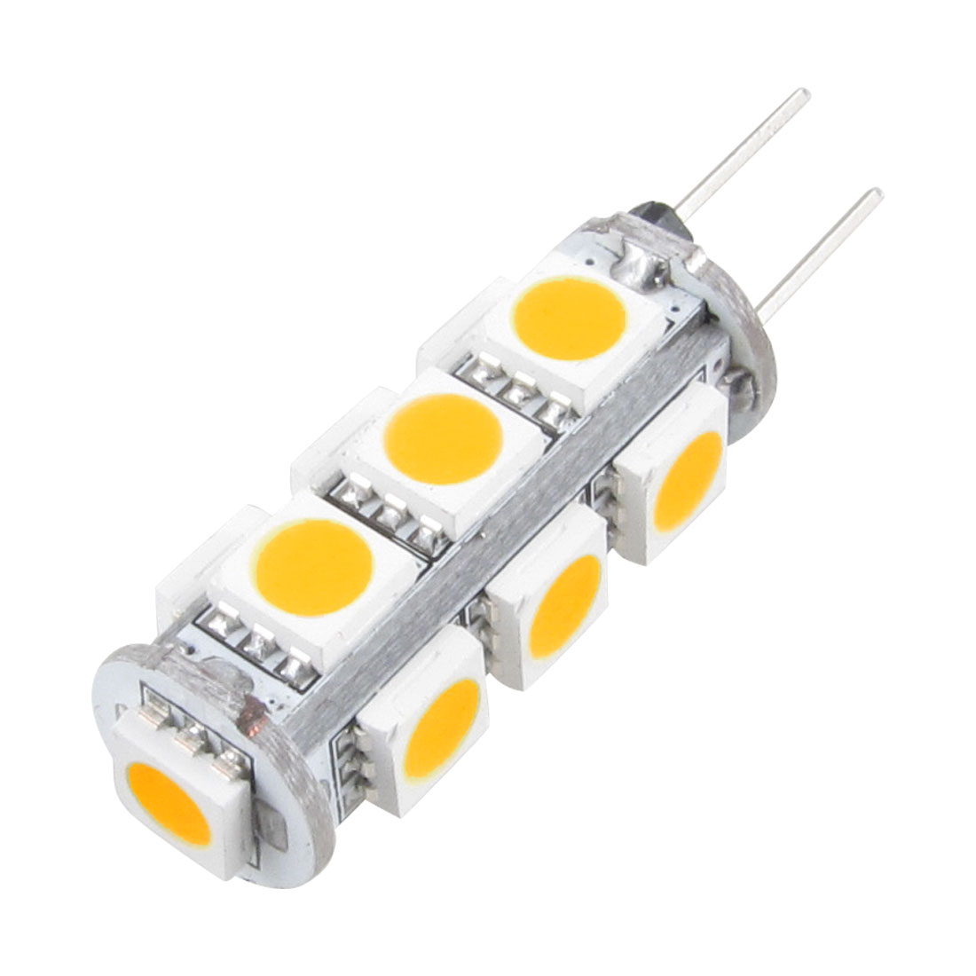 G4 13 SMD LED 5050 Warm White Car Boat Marine Lamp light Bulb DC 12V