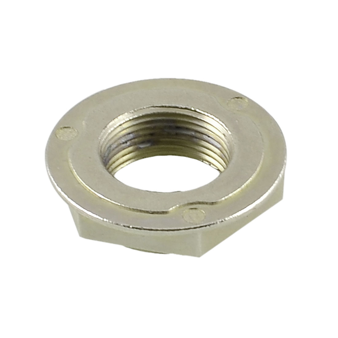 """3/4"""" PT 24mm Dia Thread Brass Hex Screw Nut Fastener for Washing Machine"""