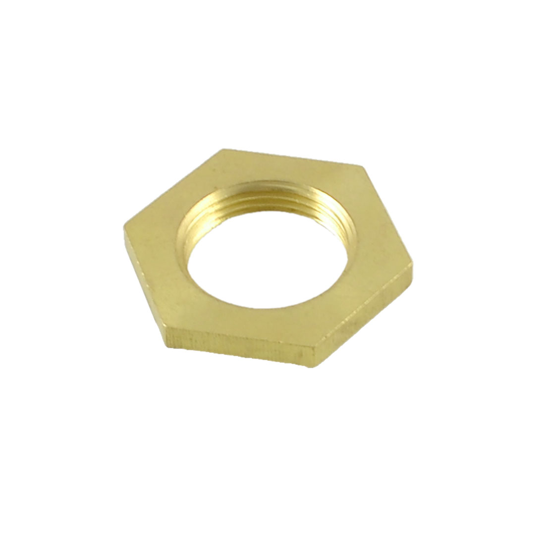 "1/2"" PT 22mm Dia Thread Brass Hex Screw Nut Fastener for Washing Machine"