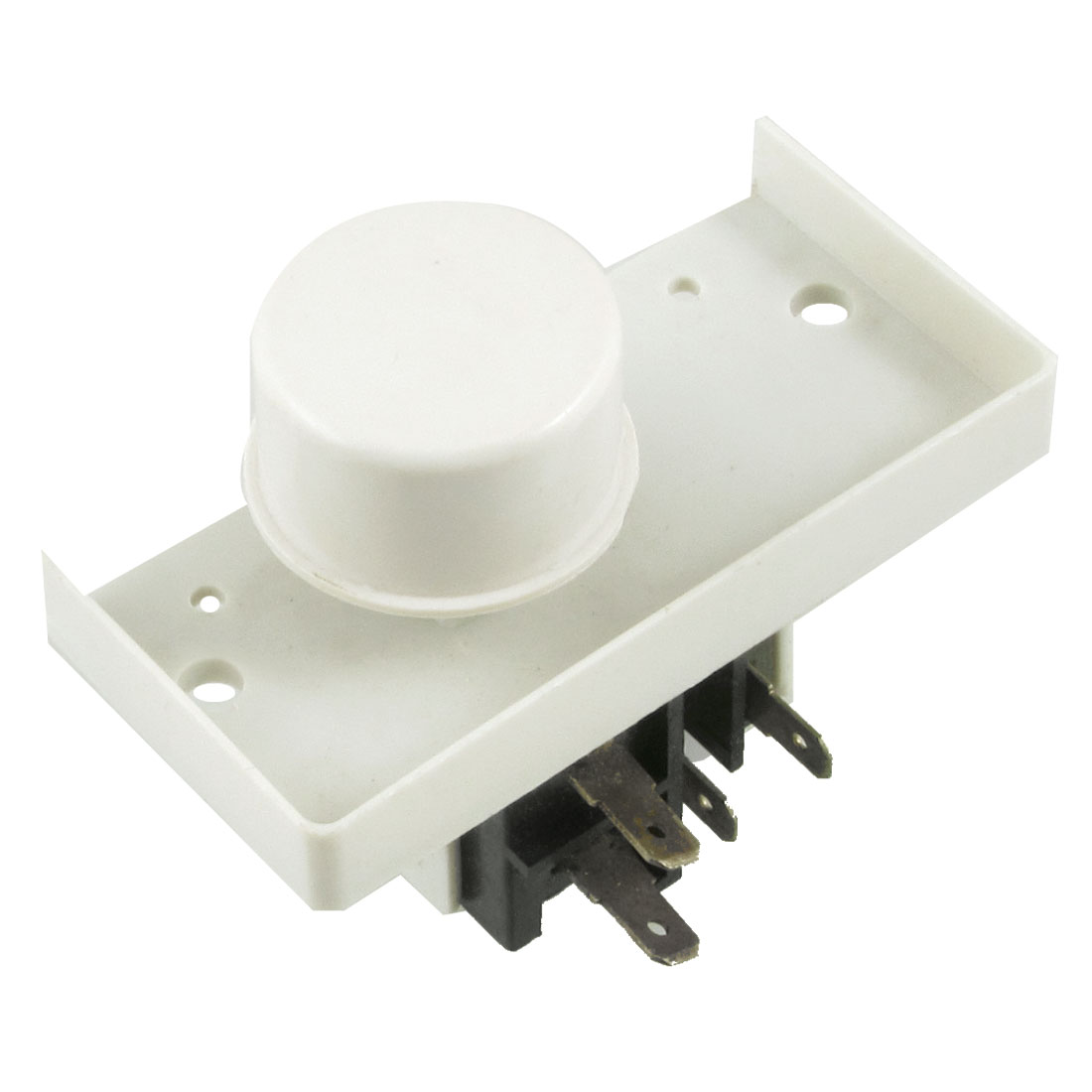 250V 4 Pins NO Latching Round Power Switch for Bell Washing Machine Washer