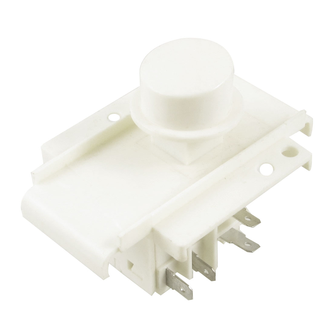 AC 220V/240V 5A 4 Pins NO Latching Power Switch for Washing Machine Washer