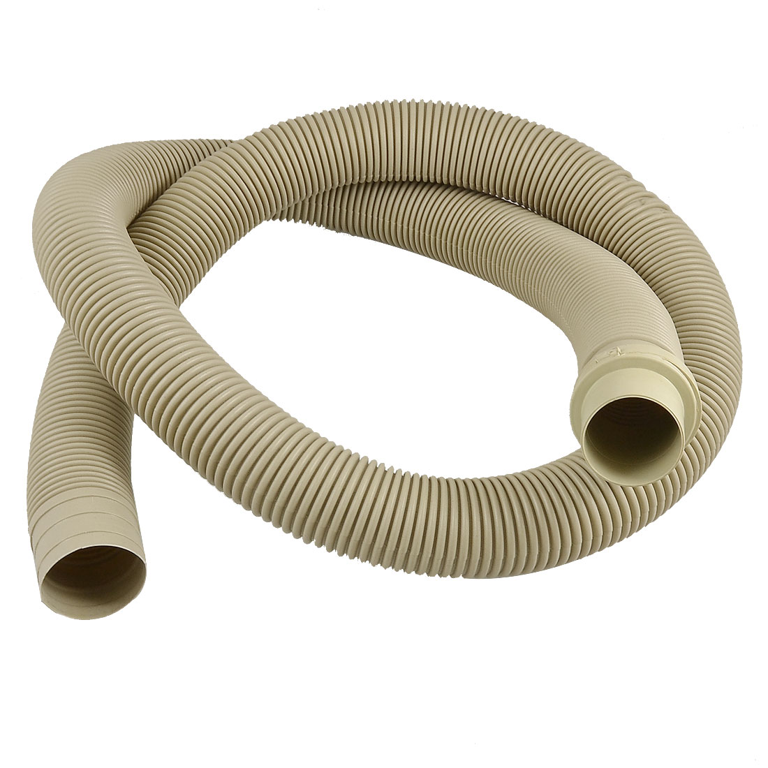 "Replacement 1.26 Meters 50"" Outlet Water Drain Hose Beige for Front Load Washer"
