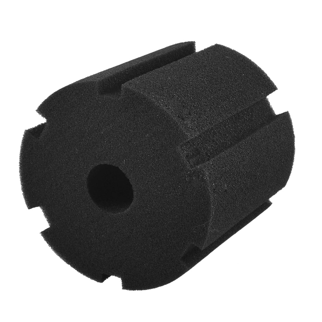 "Black 3.9"" Height Cylinder Sponge for Aquarium Water Filter"