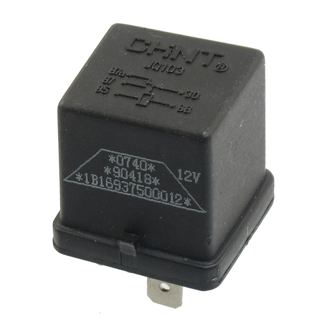 JQ103 DC 12V 30A Rail Mounted Auto Car Relay 5 Pin 5P NO NC