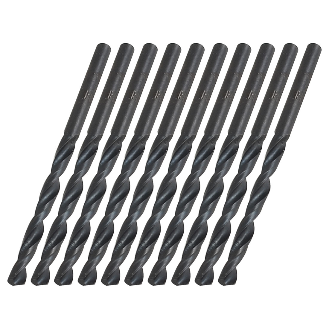 10 Pcs HSS 4mm Dia Tip Straight Shank Twist Drilling Bit for Electric Drill