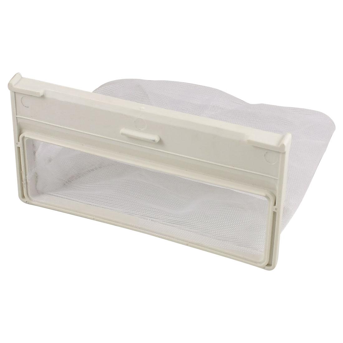 Replacement Washing Machine Laundry Mesh Nylon 14.5cm x 11cm Filter Bag White