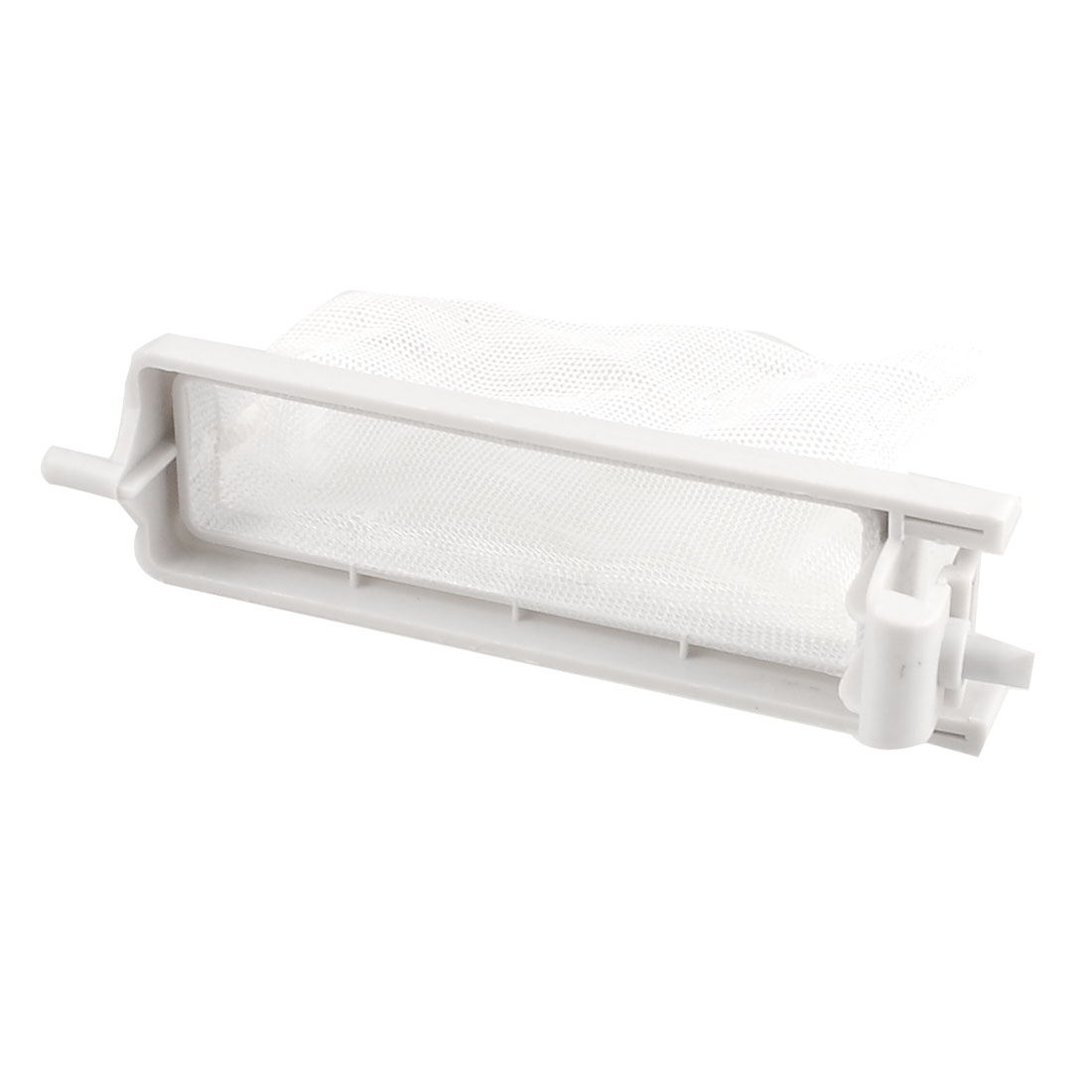 "White Plastic Nylon Filter Bag Spare Part 4"" x 2.4"" Mesh for Washing Machine"