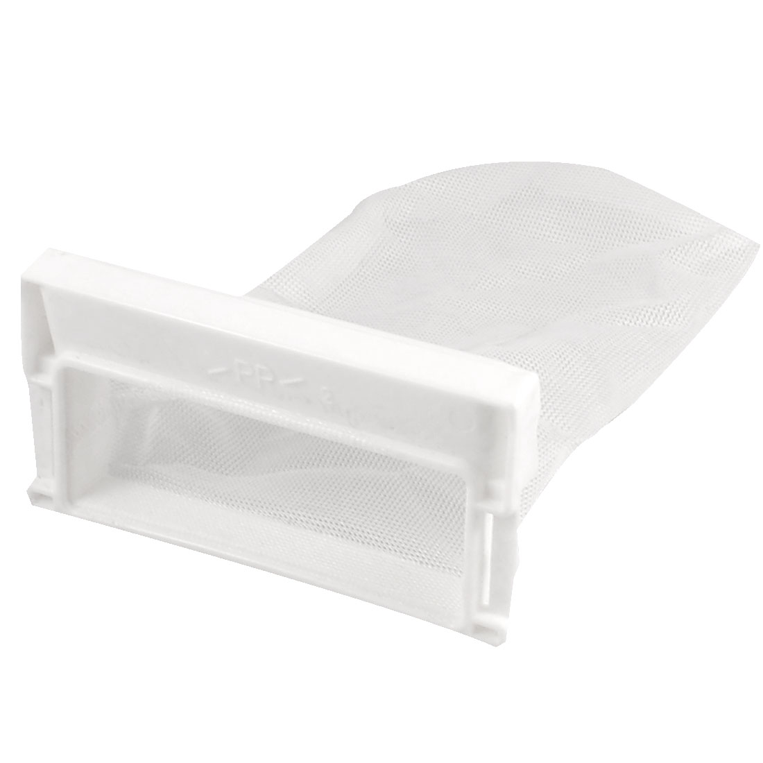 Replacement Washing Machine Laundry Mesh Nylon 8cm x 11cm Filter Bag White