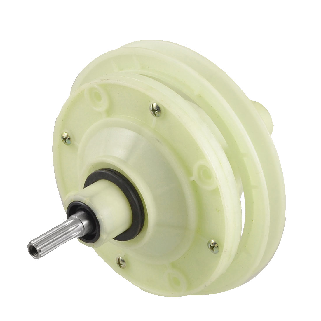 Washing Machine Part 148mm Dia 10 Teeth Speed Gear Reducer Beige
