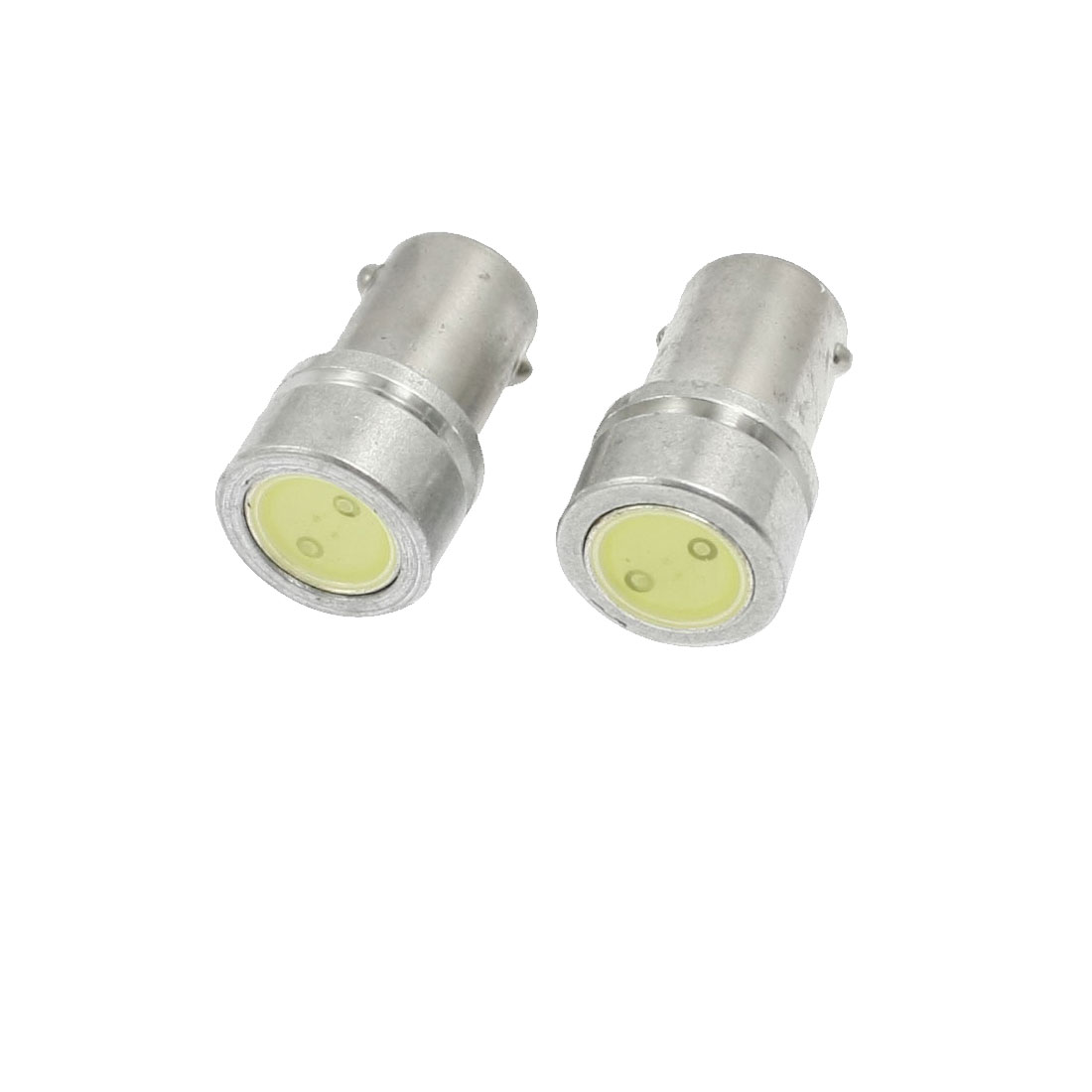 2 Pcs Car Auto Interior BA9S White LED Light Lamp Bulb 1W