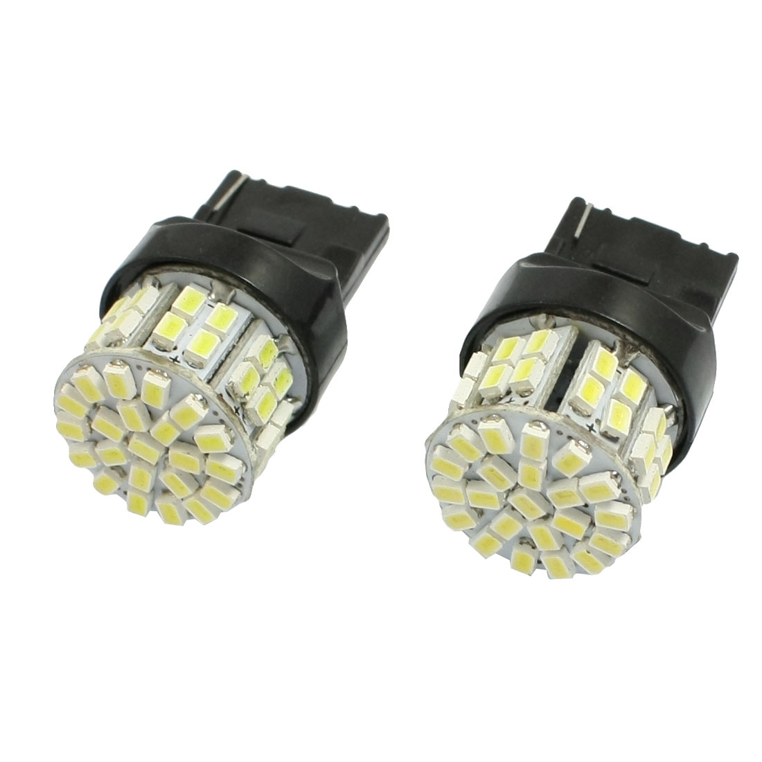 2 Pcs 12V T20 1206 7440 50SMD Brake Light LED Turning Tail Signal Bulb Lamps
