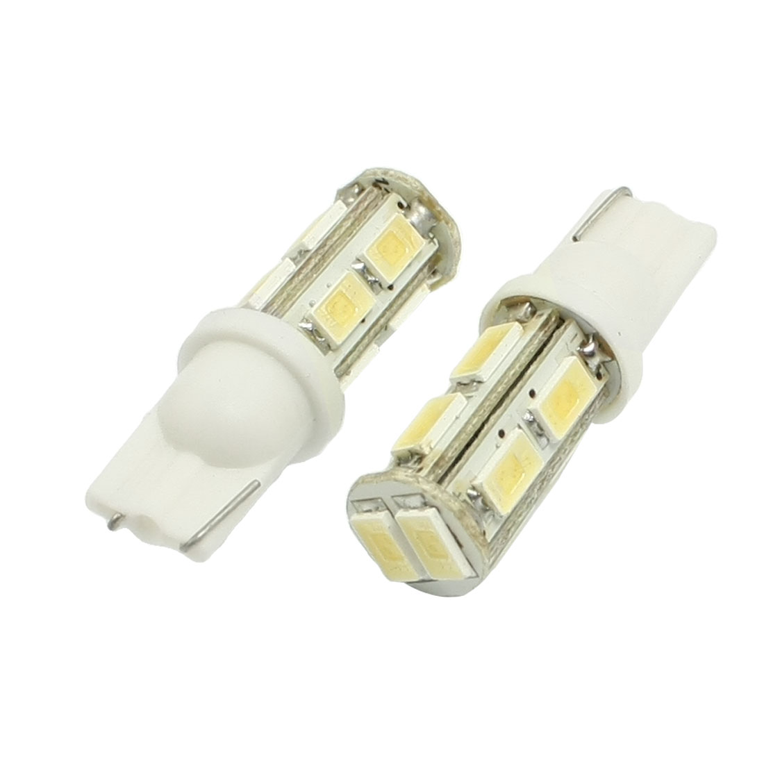 2 Pcs White 5630 SMD 10 LED Car Side Wedge Light Bulbs for Car Auto