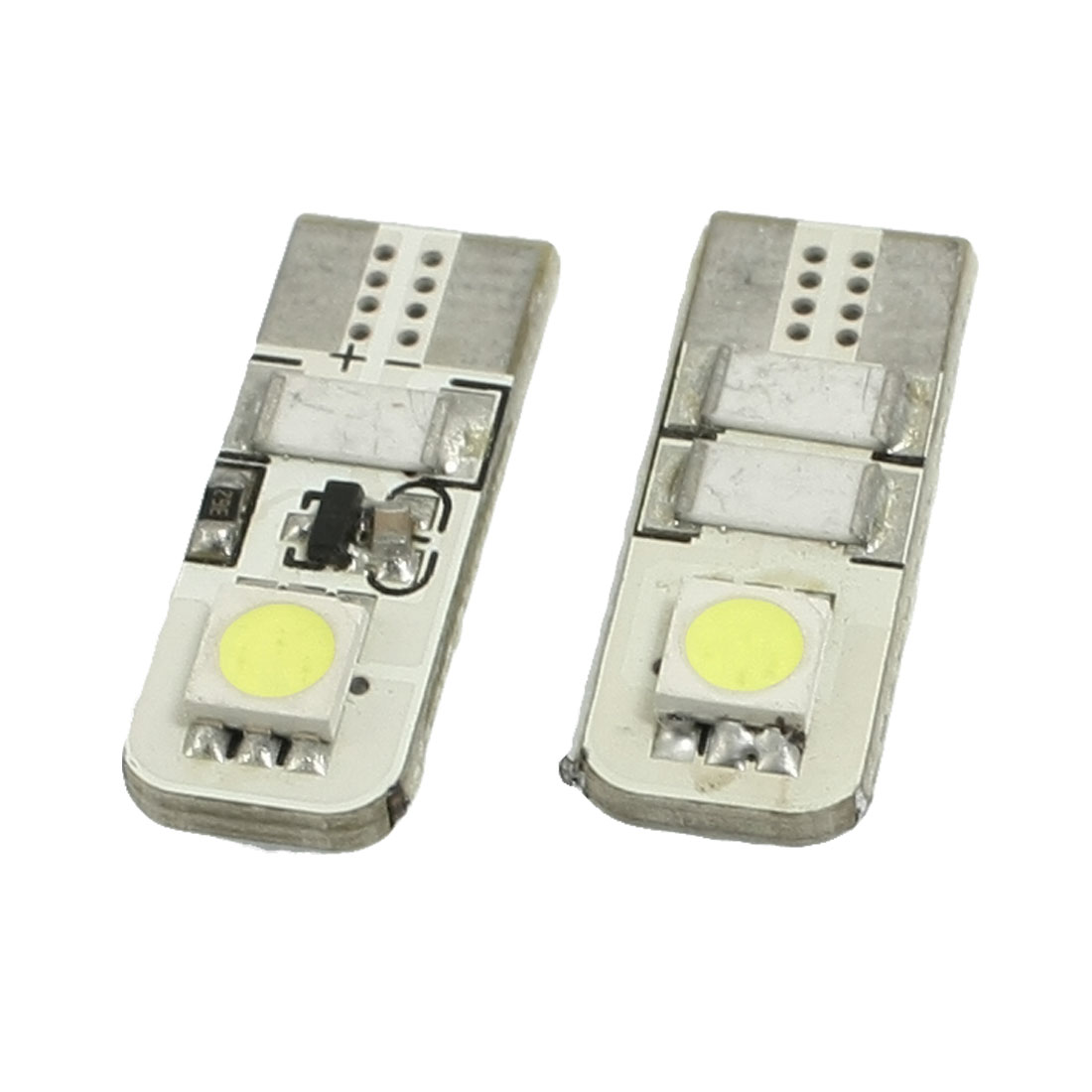 2 x Canbus Error Free 5050 SMD 2 LED T10 194 W5W Map Backup Light Lamp White